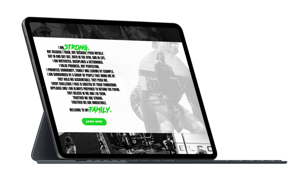 Responsive website design, Capital Strength Ottawa